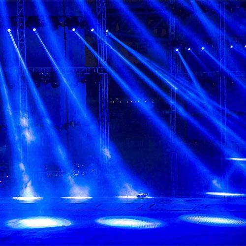 演出舞台灯光