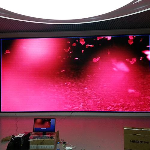 室内全彩P6显示屏