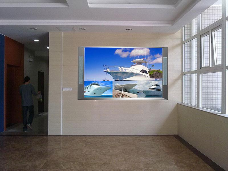 室内全彩P4显示屏